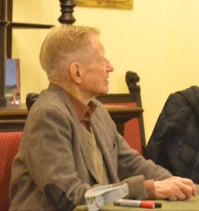 Holocaust witness and survivor Mr Dlugoborski
