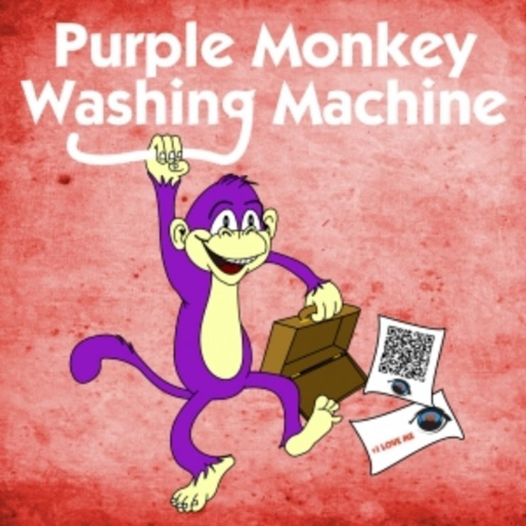 purple monkey washing machine song