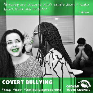 covert bullying poster 2016
