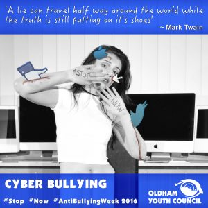cyber bullying poster 2016