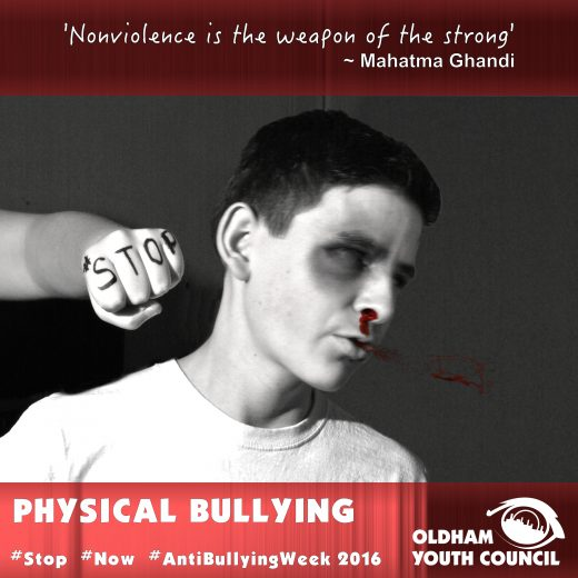 physical bullying poster 2016