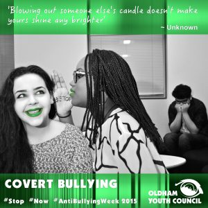 covert bullying poster