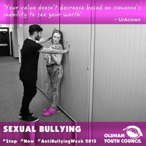 sexual bullying poster